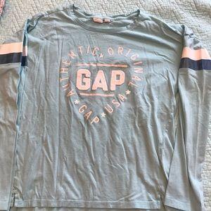 Girls Gap long sleeve shirt